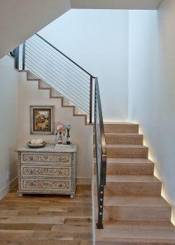 农村小别墅楼梯设计效果图片大全_装修123效果图