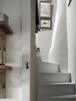 农村小别墅楼梯设计装修效果图片-农村小别墅设计图纸及效果图大全
