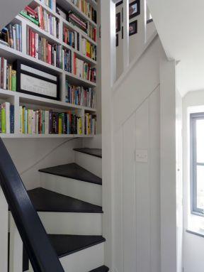 农村小别墅楼梯设计效果图片欣赏-农村小别墅设计图纸及效果图大全