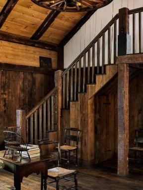 农村小别墅楼梯设计效果图片-农村小别墅设计图纸及效果图大全