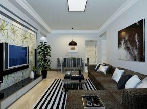 客廳集成吊頂效果圖 簡單客廳裝修