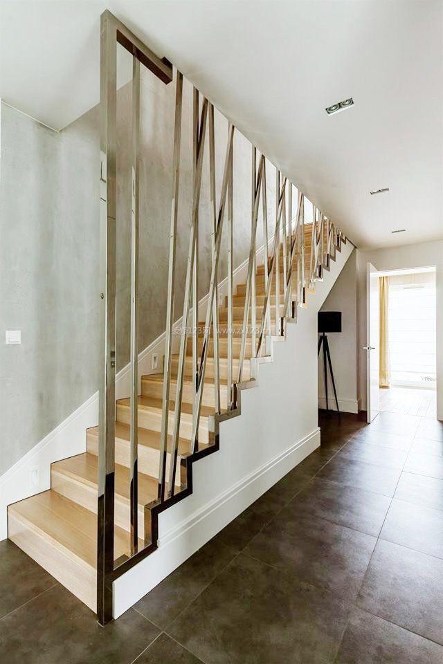 跃层楼梯造型装修效果图大全