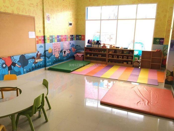 幼儿园室内设计手绘主题墙饰效果图片