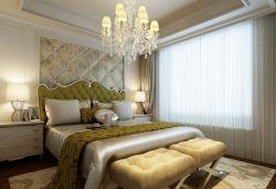 臥室軟包床頭背景墻裝修設計圖