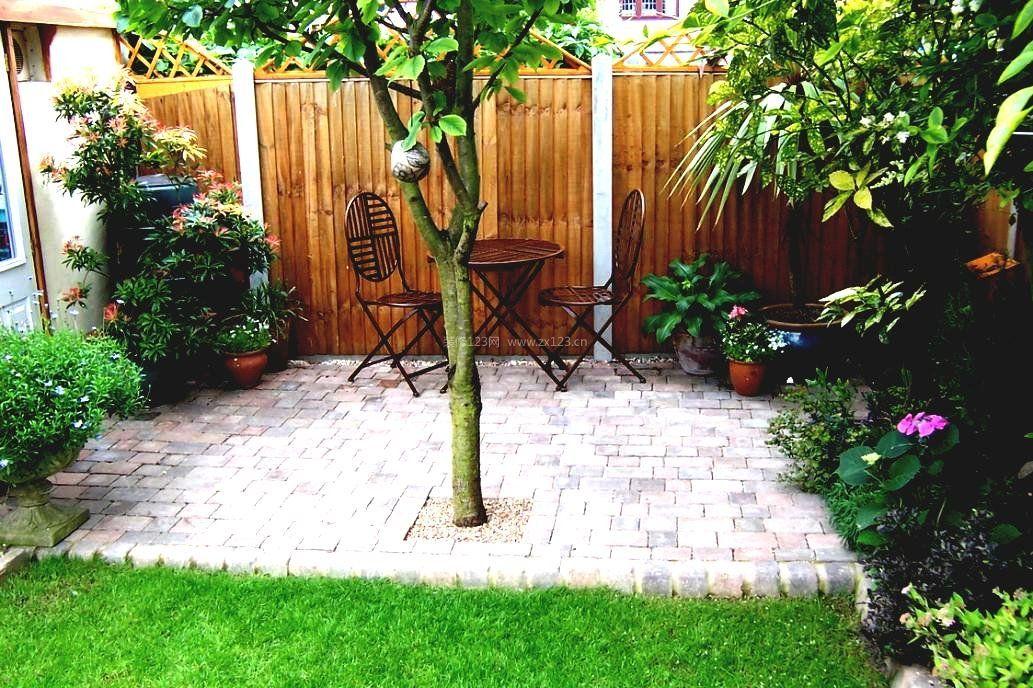 别墅阳台小花园装修设计效果实景图片