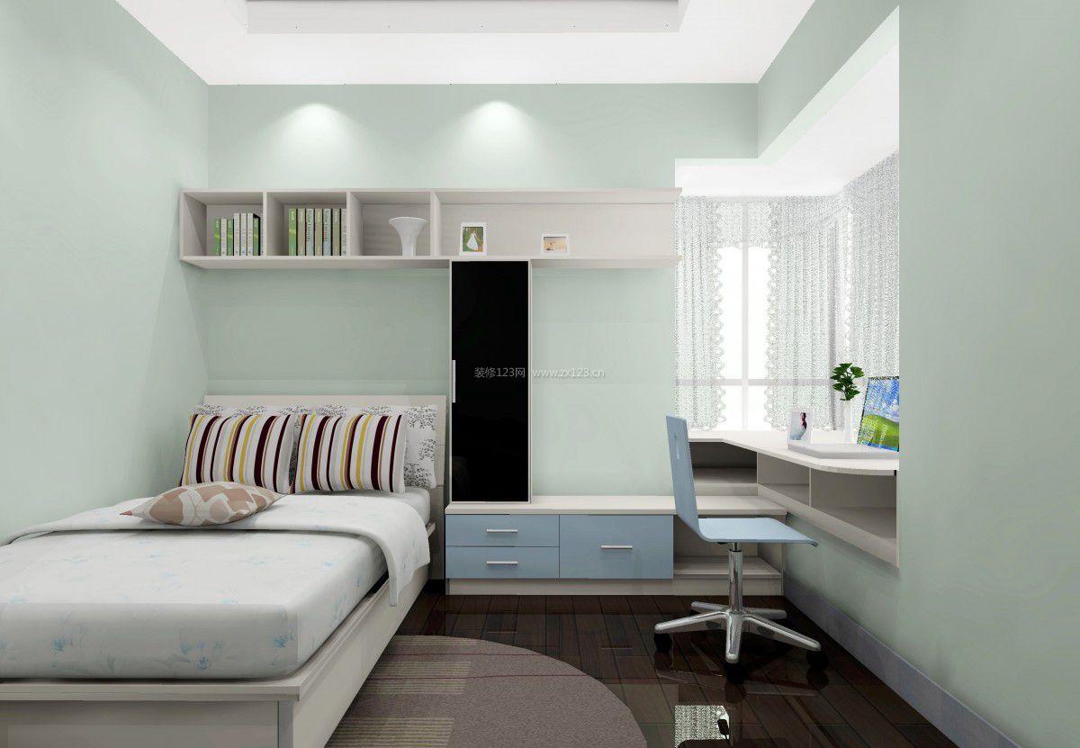 家装效果图 室内 室内飘窗书桌装修效果图大全 提供者