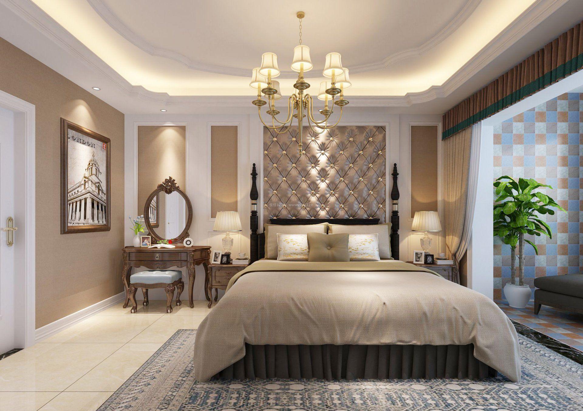普通家庭主卧室装修效果图片
