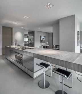 2017家用开放式厨房装修设计