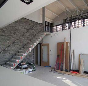 普通新房跃层楼梯装修效果图大全-每日推荐