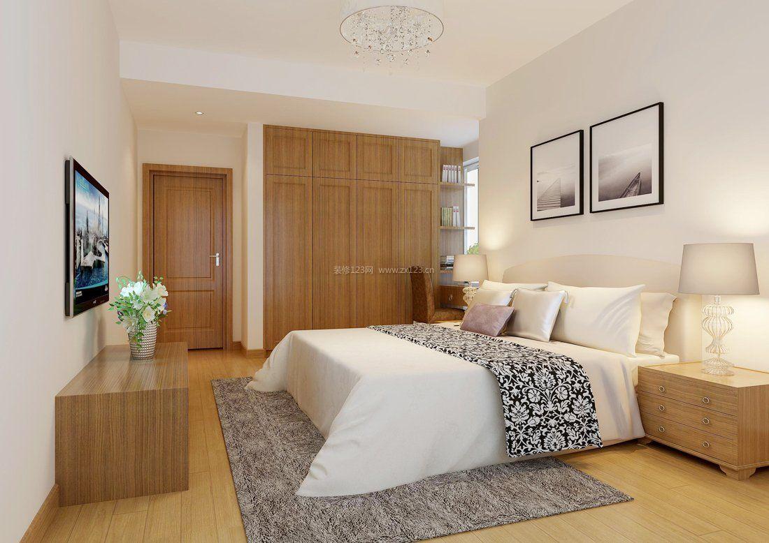卧室壁橱装修效果图2017图片