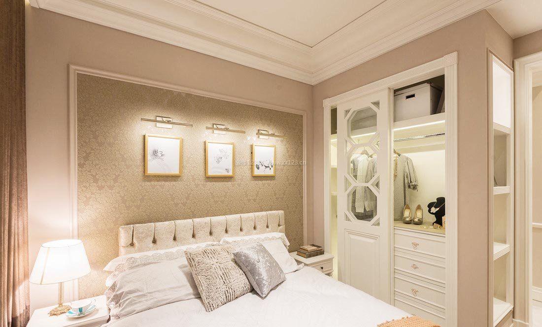 家庭卧室壁橱装修效果图片大全