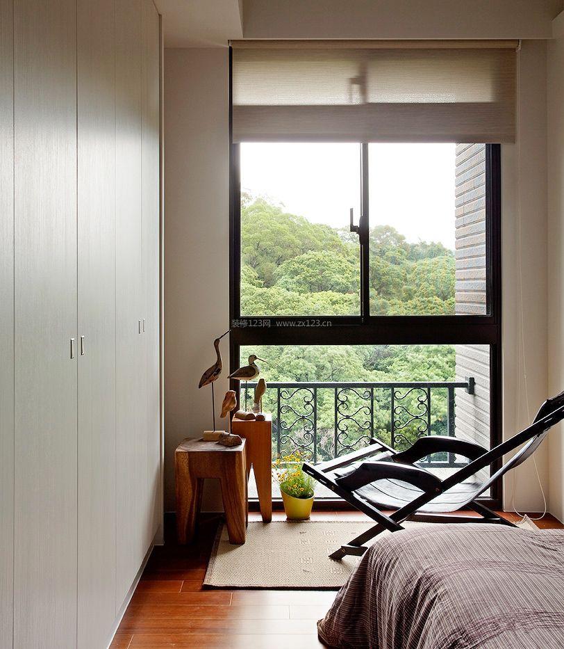 卧室阳台窗户装修效果图片大全