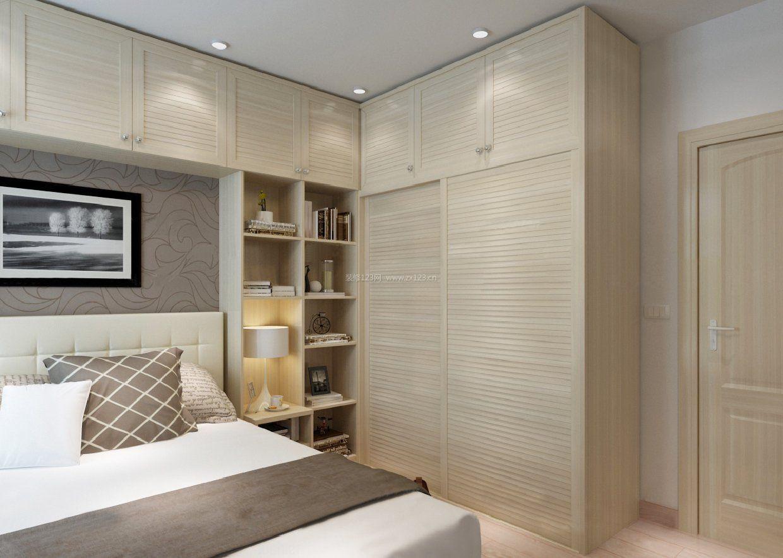 最新家庭卧室壁橱装修效果图
