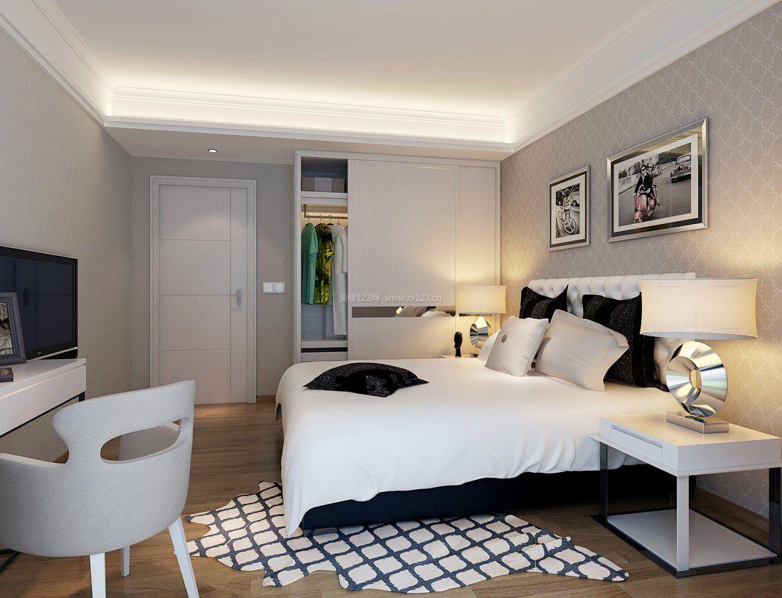 最新家庭卧室壁橱装修效果图欣赏