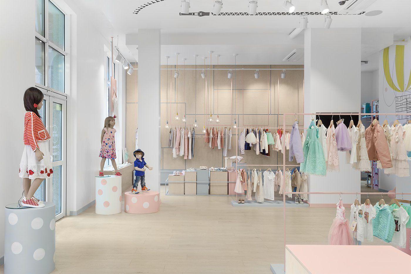 品牌童装服装店简装修效果图片