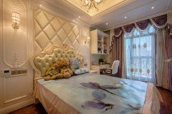 最新欧式卧室床头软包背景墙装修效果图片图片
