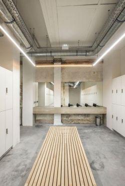 公共卫生间吊顶设计装修效果图片大全
