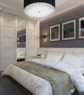 家居卧室壁橱装修效果图片大全