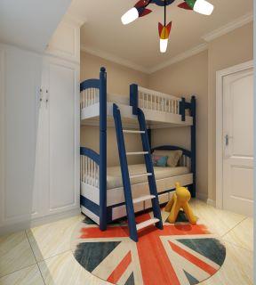 現代臥室裝修效果圖 高低床裝修效果圖片