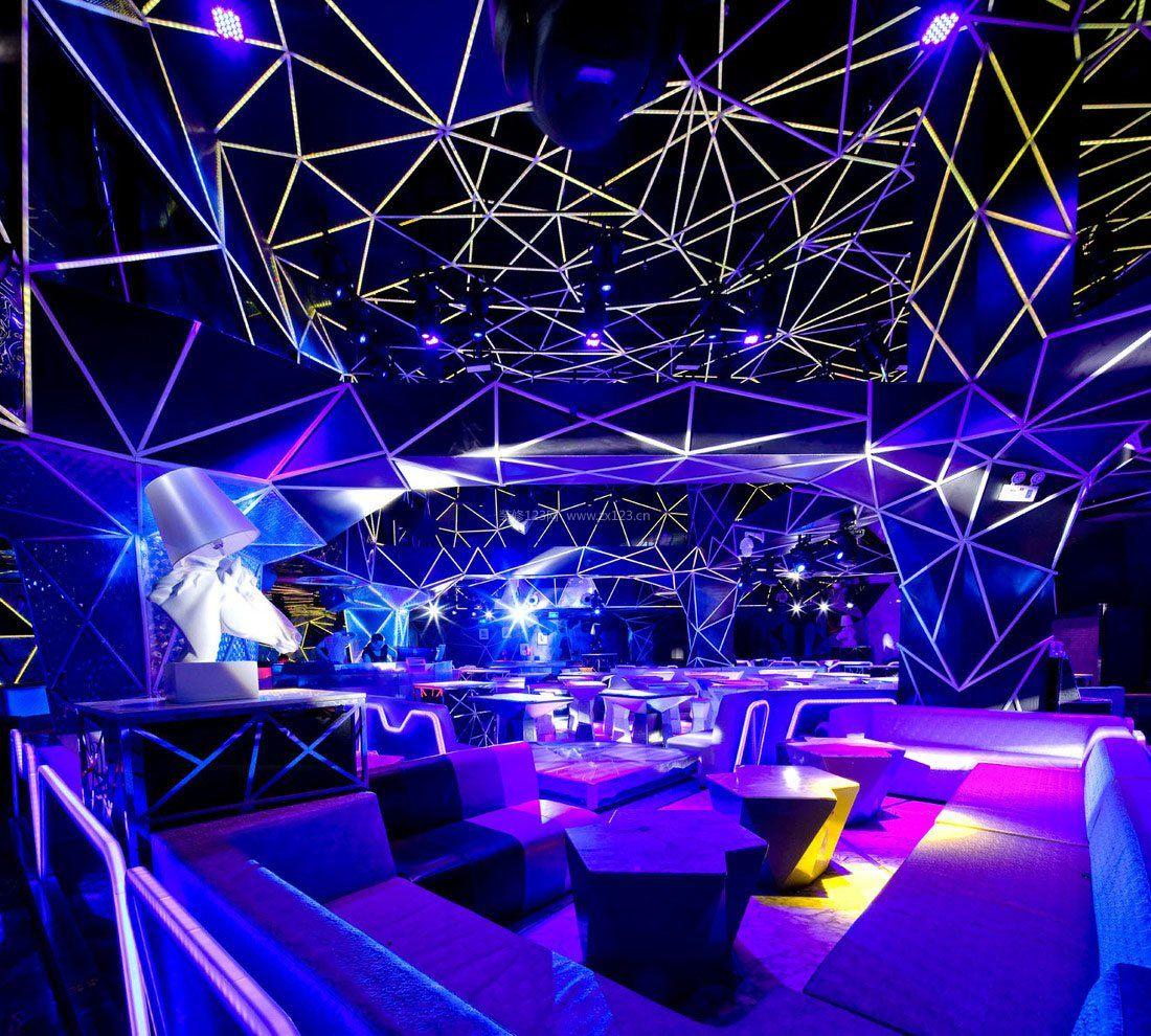 大型音乐酒吧设计装修效果图片