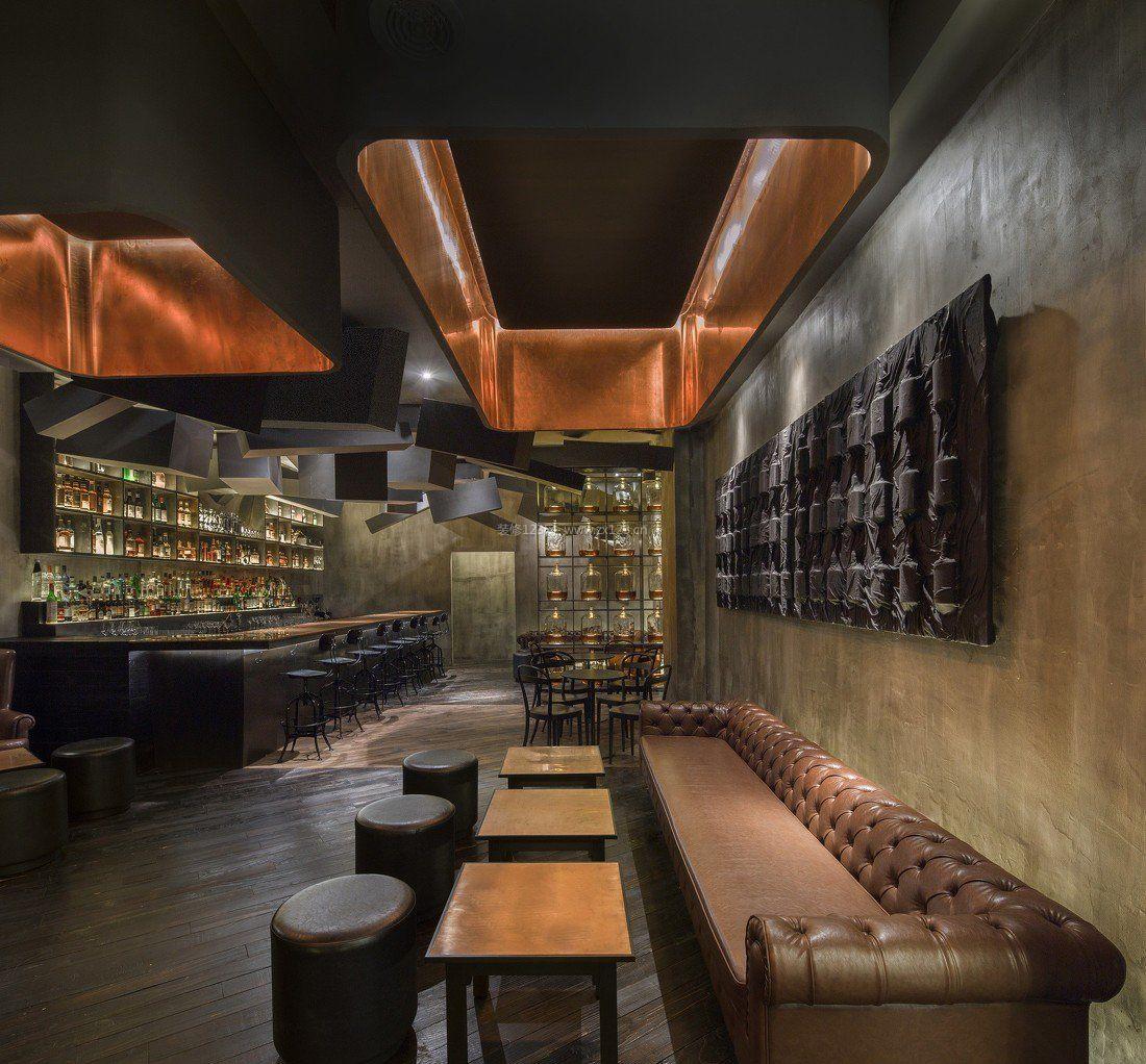 室内设计混搭风格酒吧装修图片