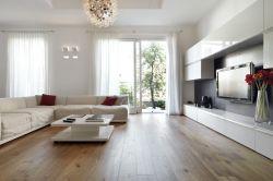 客廳實木地板貼圖效果