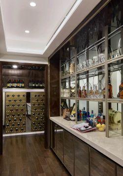 家用酒柜装修设计效果图