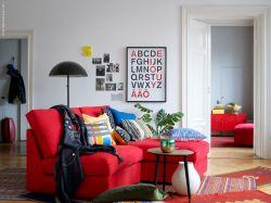 新房客廳沙發顏色搭配裝修圖片