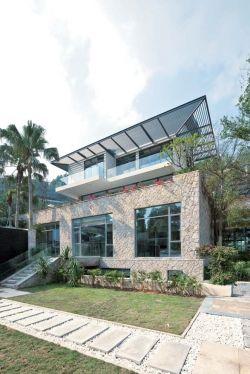 农村住宅外墙瓷砖设计效果图