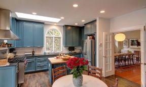 美式鄉村廚房門 門框設計裝修效果圖片