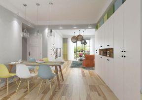 现代简约风格房屋 原木地板装修效果图片