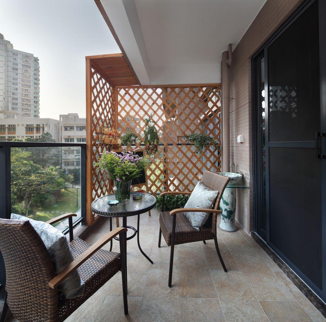 阳台地砖装修图片效果图图片