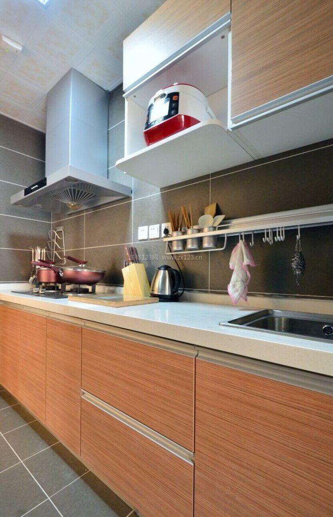 最新l型厨房装修设计效果图欣赏