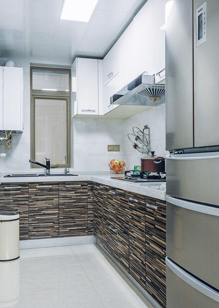 最新房屋l型厨房装修效果图集