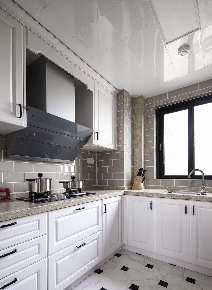 l型厨房装修设计效果图大全