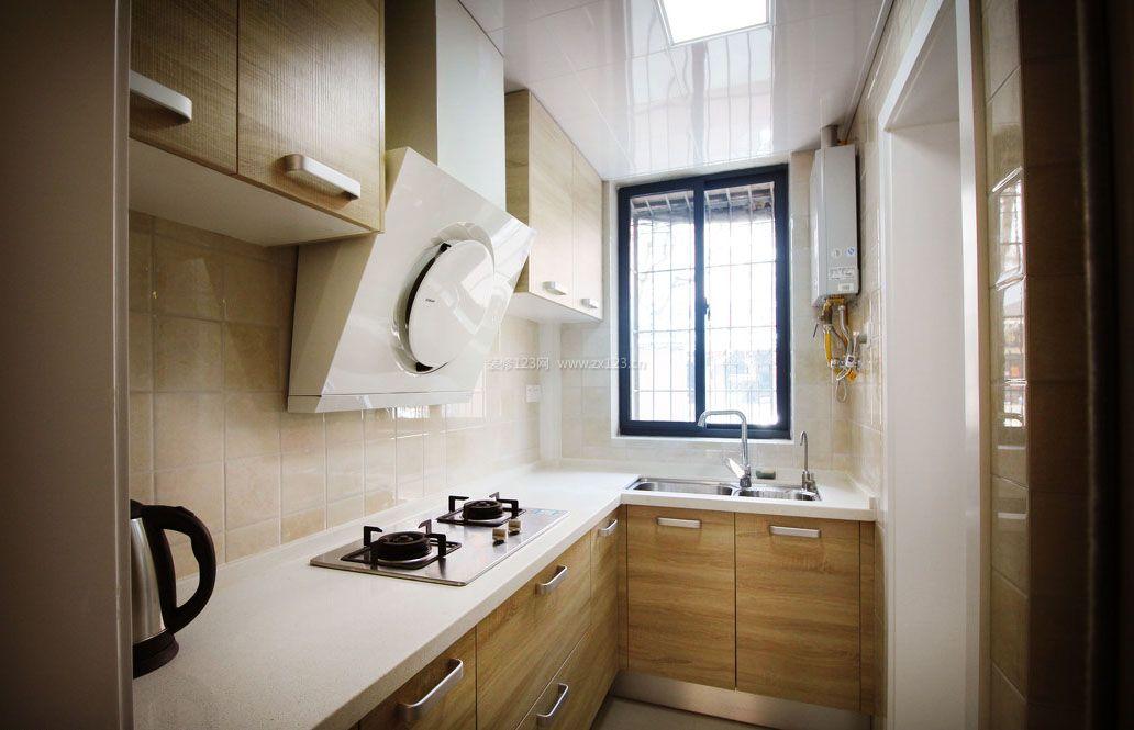 l型厨房装修设计效果图片2017
