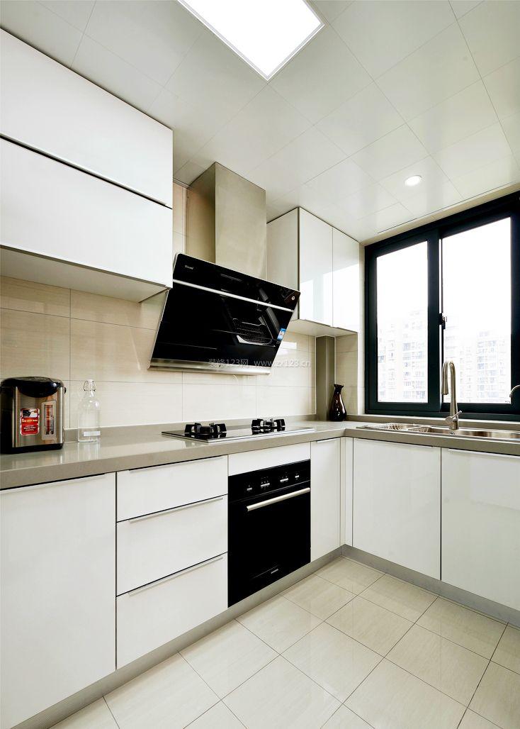 l型厨房装修设计效果图集