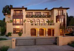 美式别墅围墙大门装修设计图_装修123效果图图片