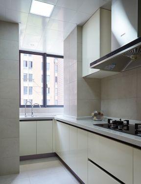 2018l型厨房橱柜设计图-装修123网效果图大全