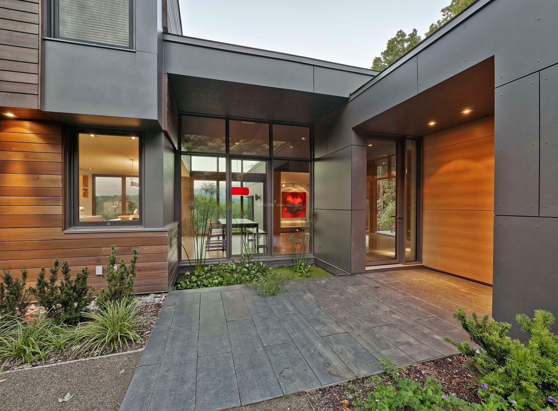 楼房外墙瓷砖装修设计效果图片欣赏