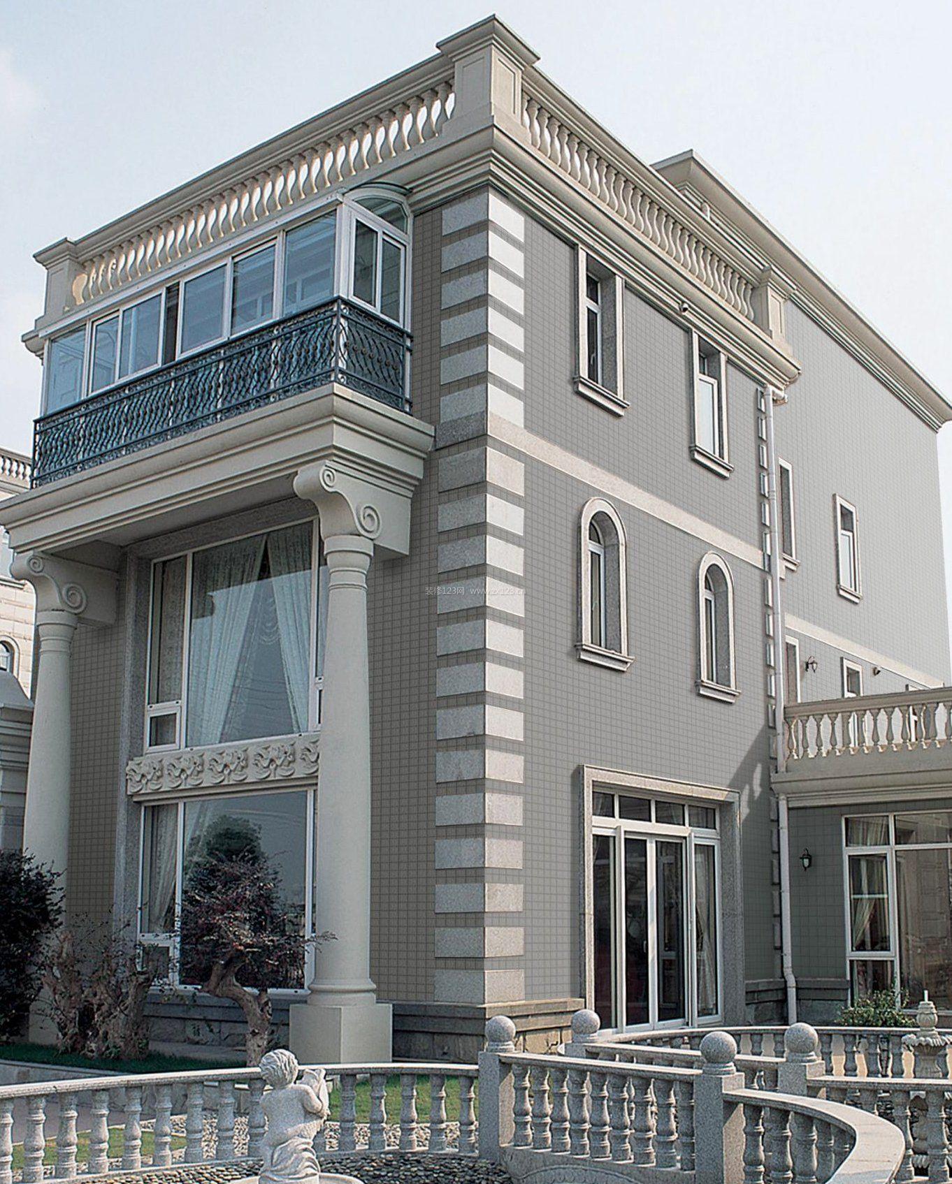 高档楼房外墙瓷砖设计效果图欣赏