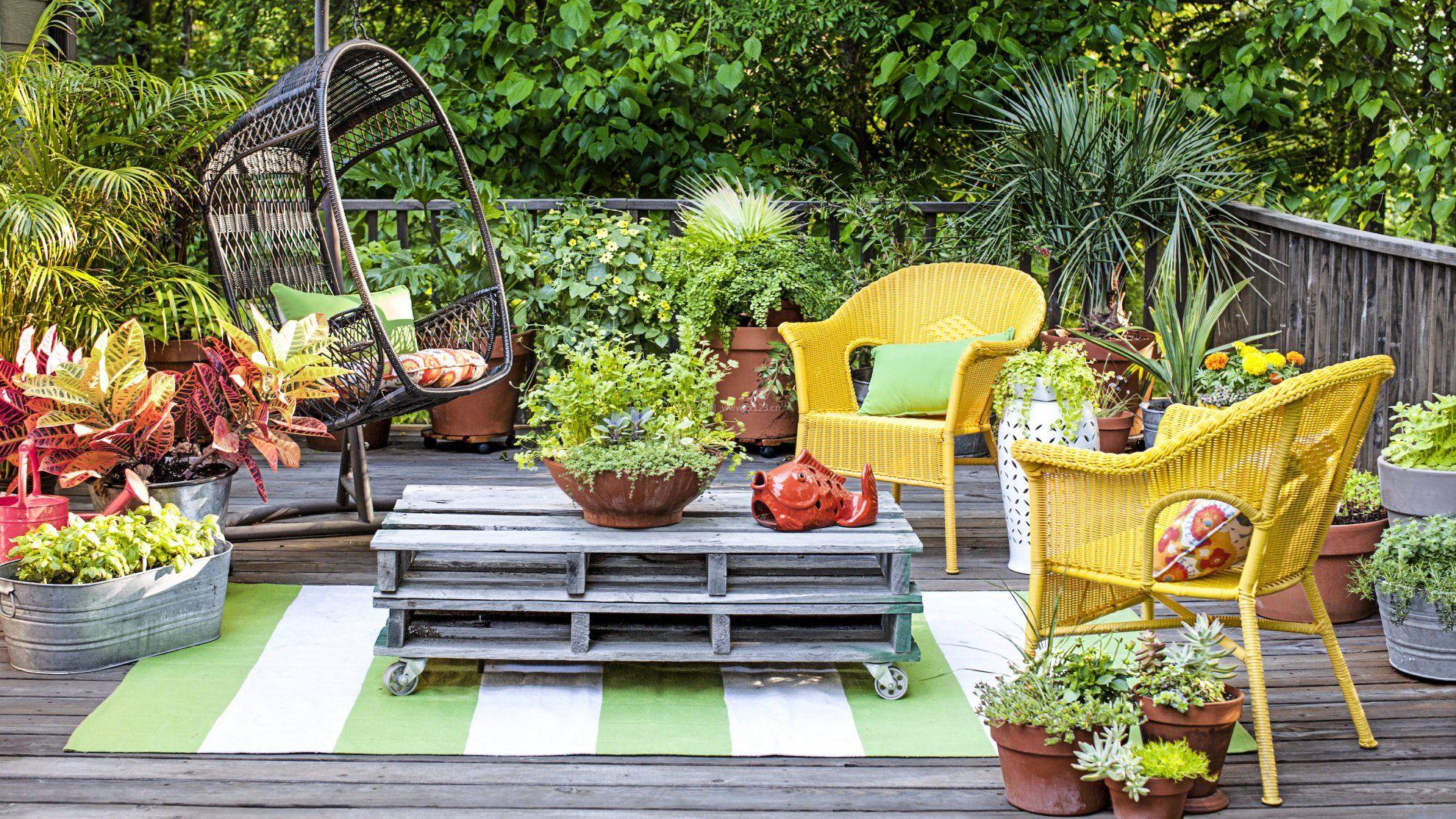 入户花园阳台装修效果图