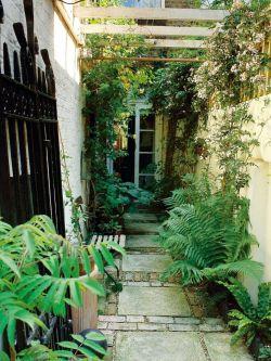 入户花园阳台花架装修效果图片