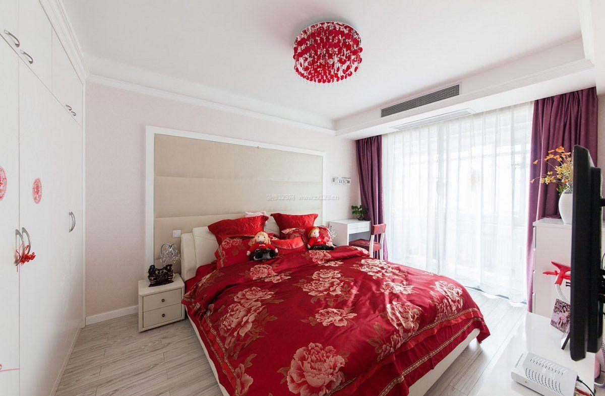 农村婚房漂亮卧室装修效果图