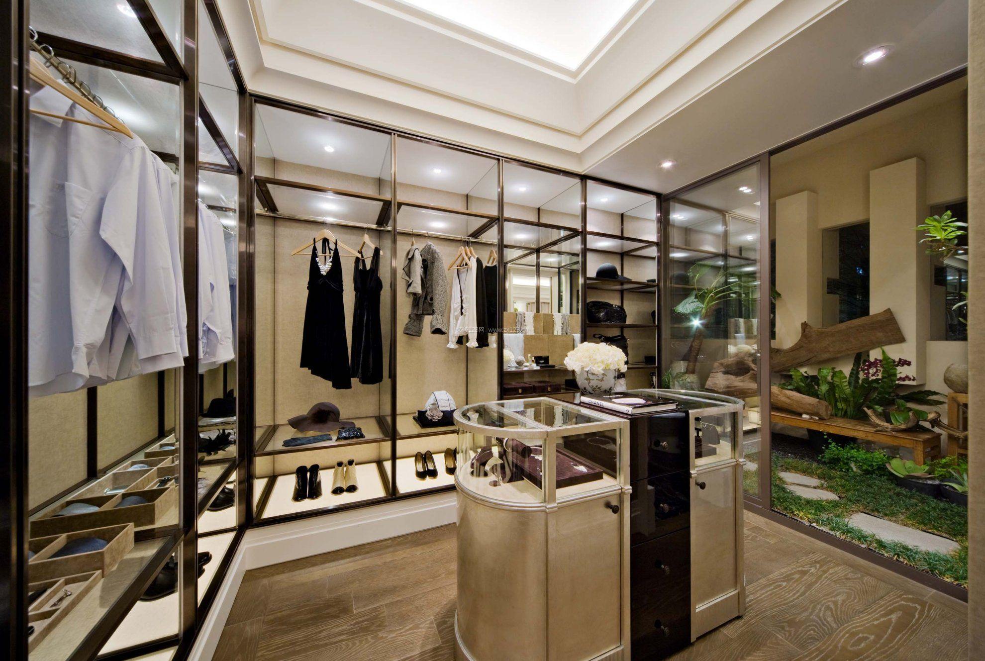 欧美风格室内装�_时尚欧美服装小店装修风格图片
