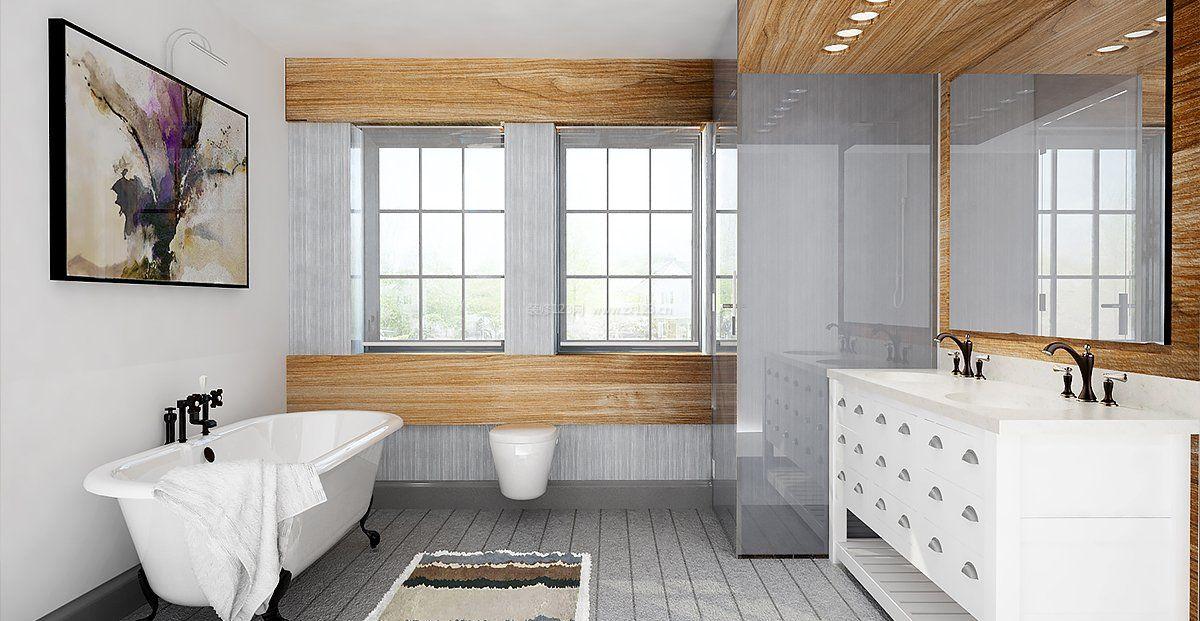 整体小卫生间瓷砖装修效果图