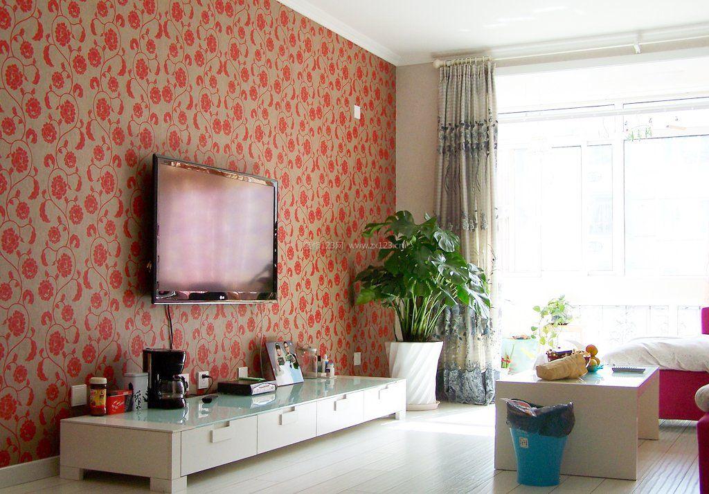 电视背景墙壁纸图大全