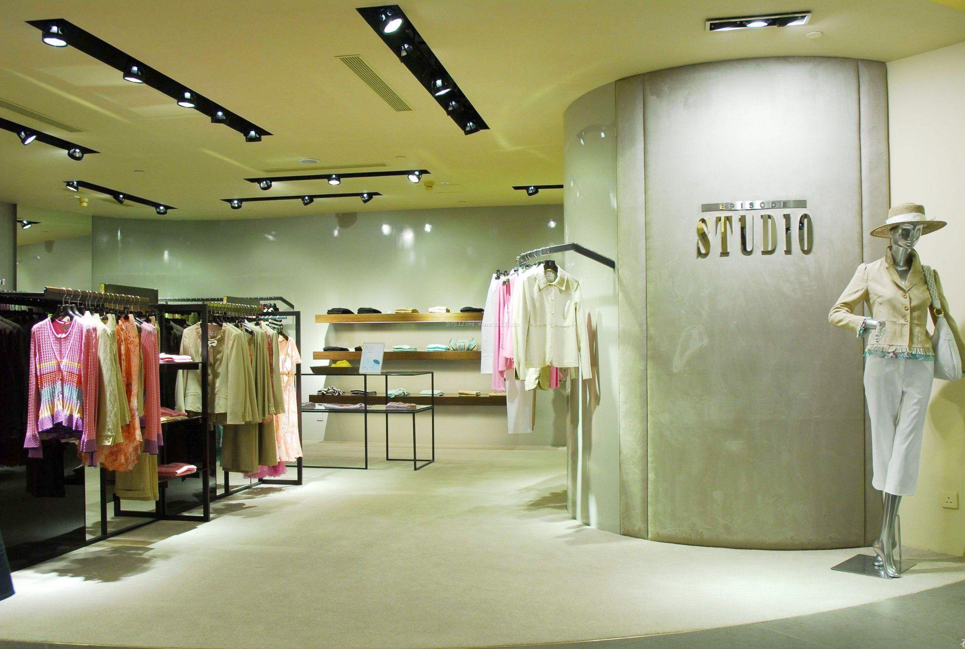 工装效果图 服装店 最新欧美服装店装修风格图片 提供者