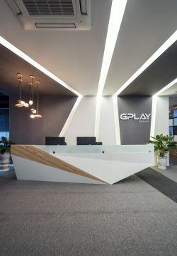 现代公司前台设计效果图图片图片