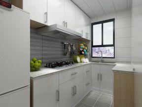 70平方房子設計圖 白色小廚房